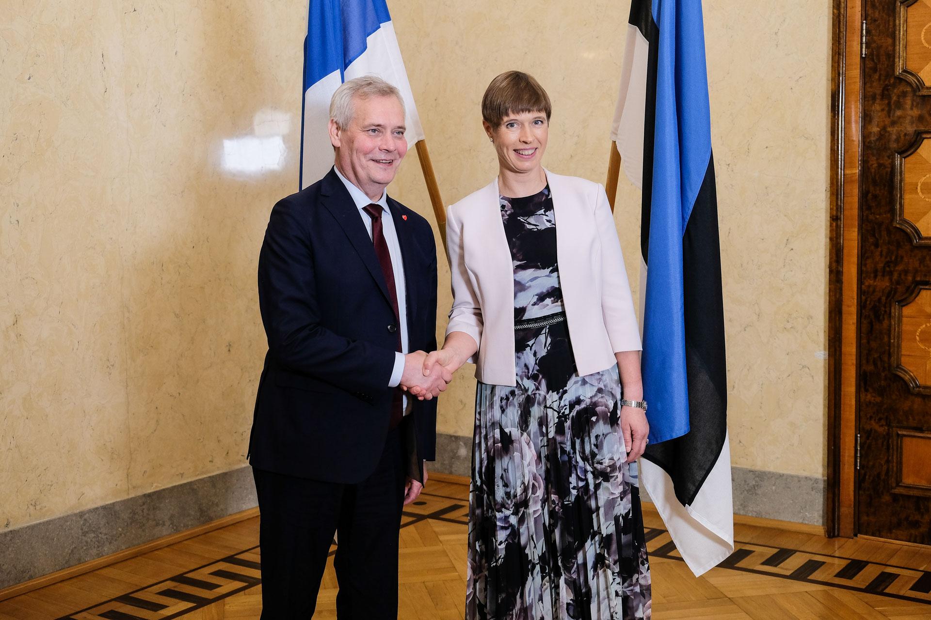 President Kaljulaid kohtus Soome peaministriga3