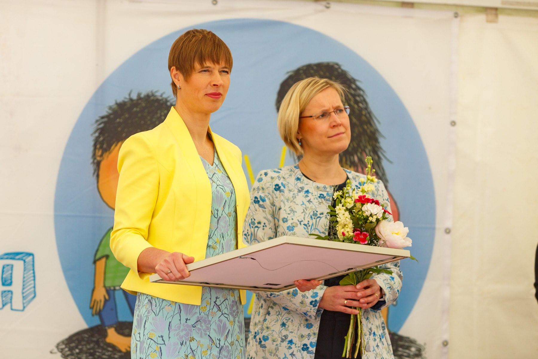 VAATA VIDEOT I Kadrioru Roosiaias toimunud tänuüritusel tunnustati laste ja noorte huvide eest seisjaid