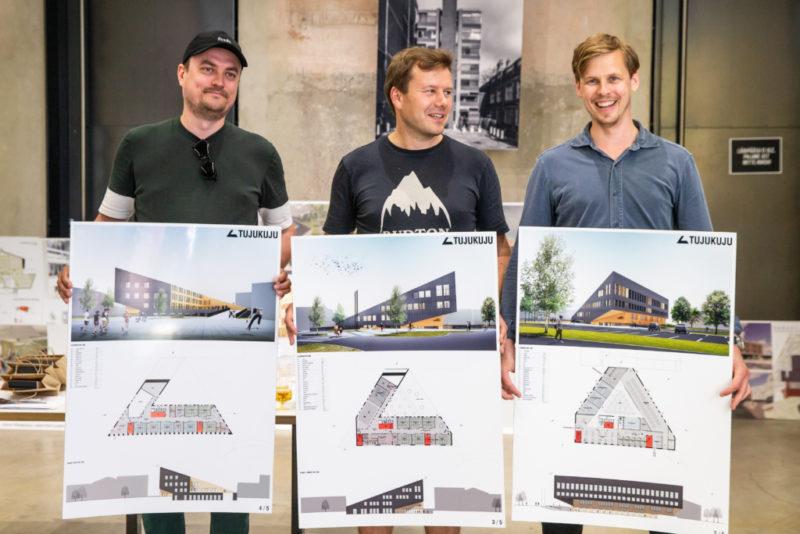 Selgus Jõhvi Põhikooli arhitektuurivõistluse võidutöö