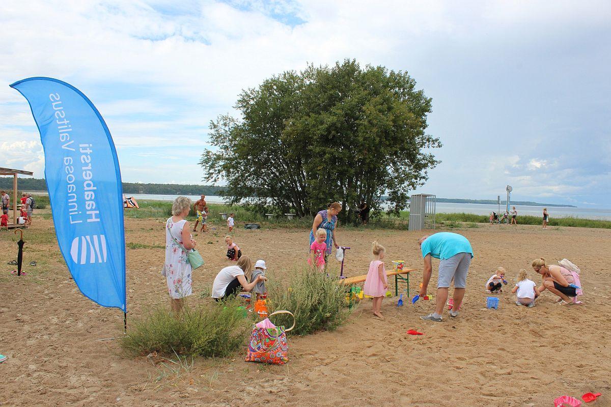 Kakumäe rannas peetakse sportlikku lastehommikut