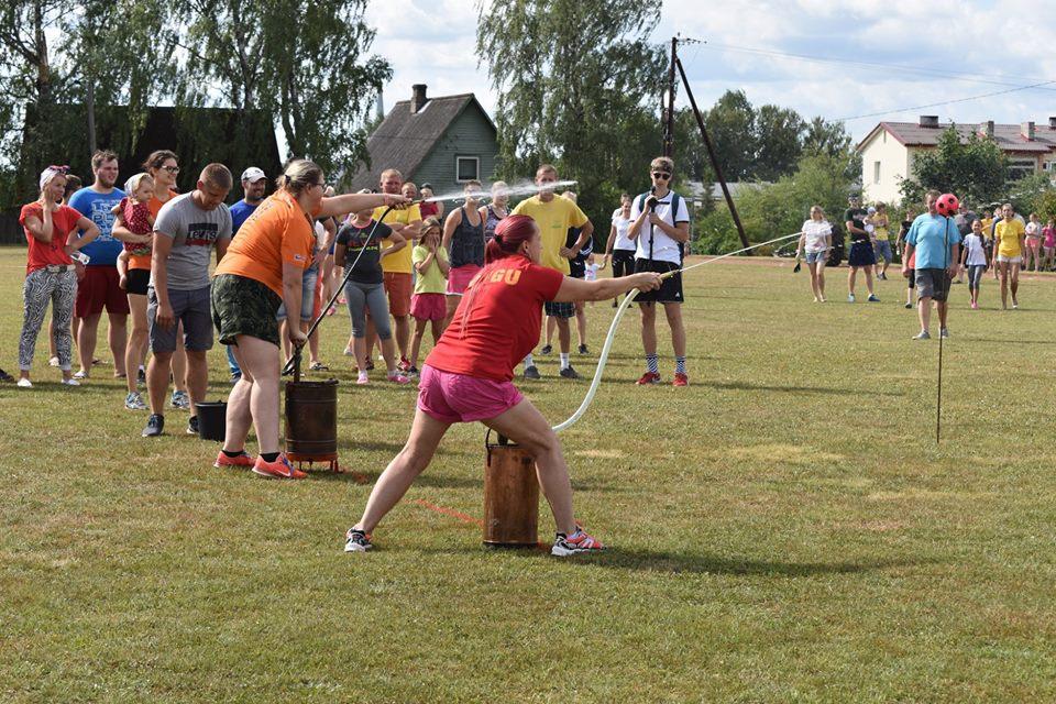 Elva külade olümpial võisteldakse saunatamises