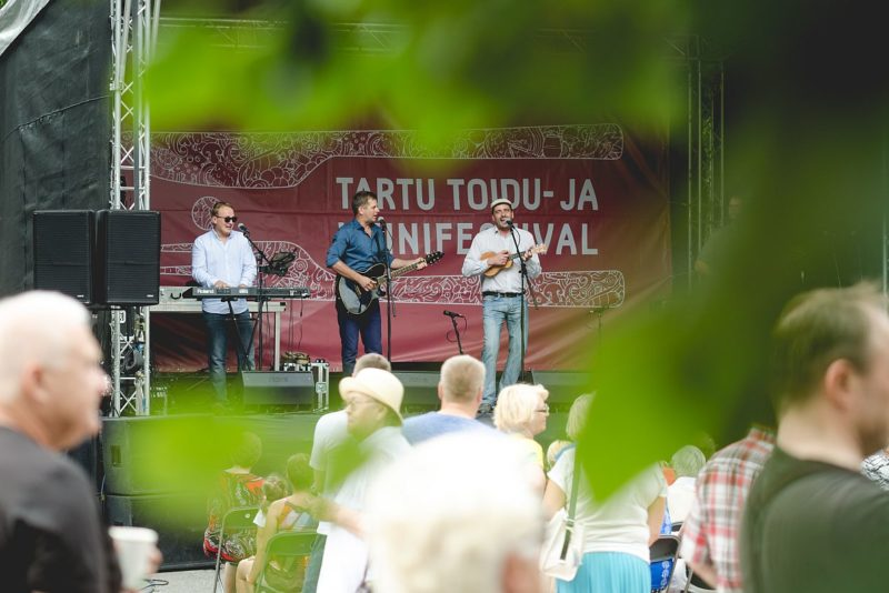 Viiendat aastat toimub Tartu toidu- ja veinifestival