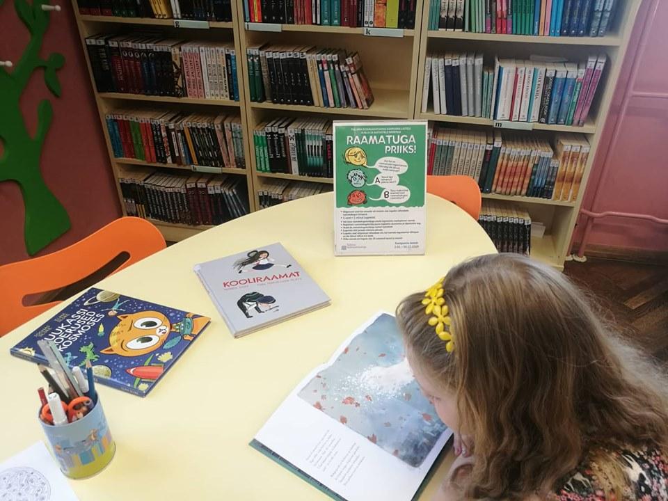 """Lugemisprogrammiga """"Suvi raamatuga"""" liitus üle 300 lapse"""