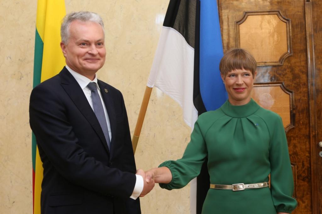 MEIE BALTIMAAD I President Kaljulaid Leedu kolleegile: olime vaprad Balti ketis ja seisame nüüd koos demokraatia eest