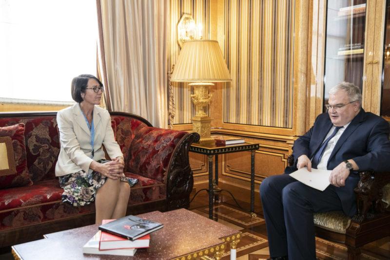 Eesti suursaadik ÜRO-s andis üle volikirja
