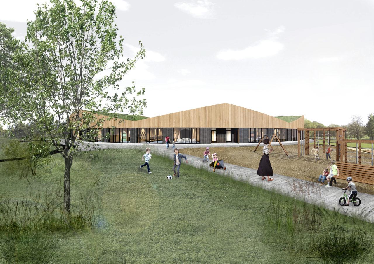 Eesti ühe kaasaegsema lasteaia ehitusel peetakse sarikapidu