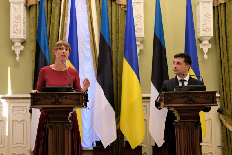 President Kaljulaid: Ukraina on Eesti jaoks prioriteetne riik