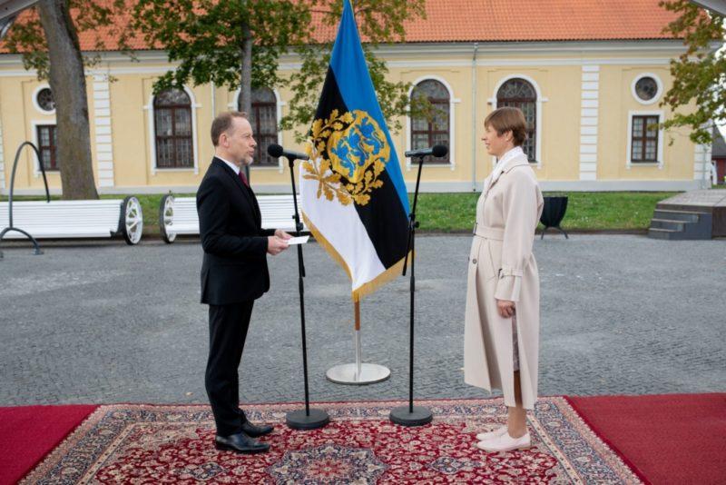 FOTOD I Eesti riigipeale andsid volikirjad Saksamaa, Austria ja Prantsusmaa suursaadikud