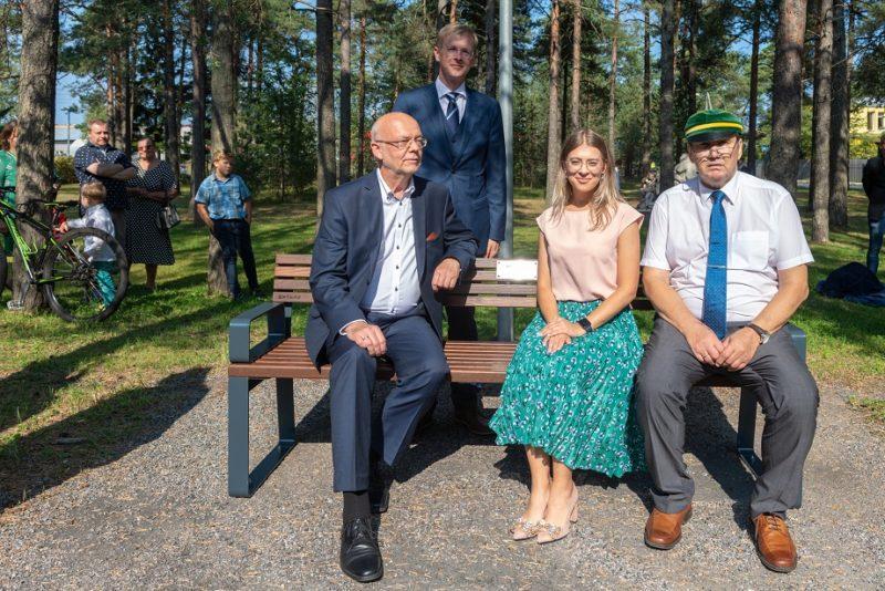 President Lennart Meri sai mälestuspingi