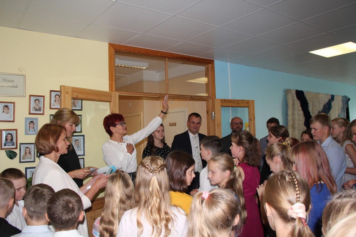 Pühajärve Põhikoolis avati uus laboriklass