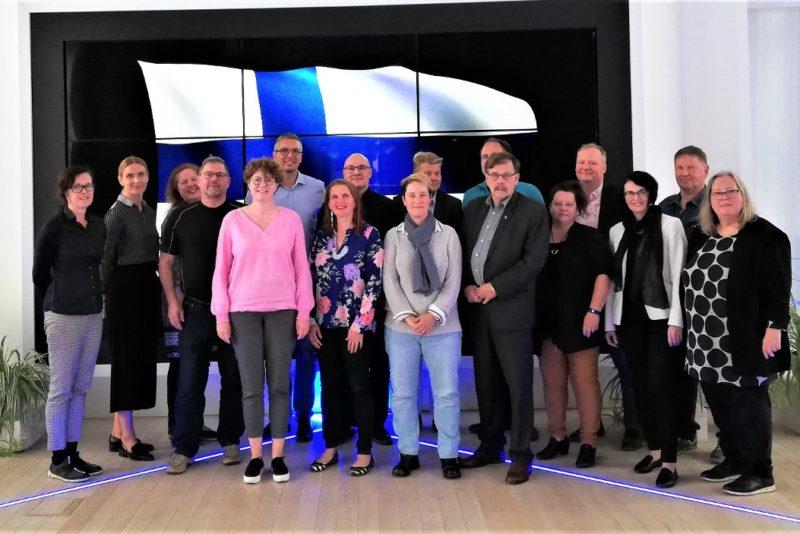 Rakveret külastanud Uusikaupunki delegatsioon rääkis elust Soome väikelinnas