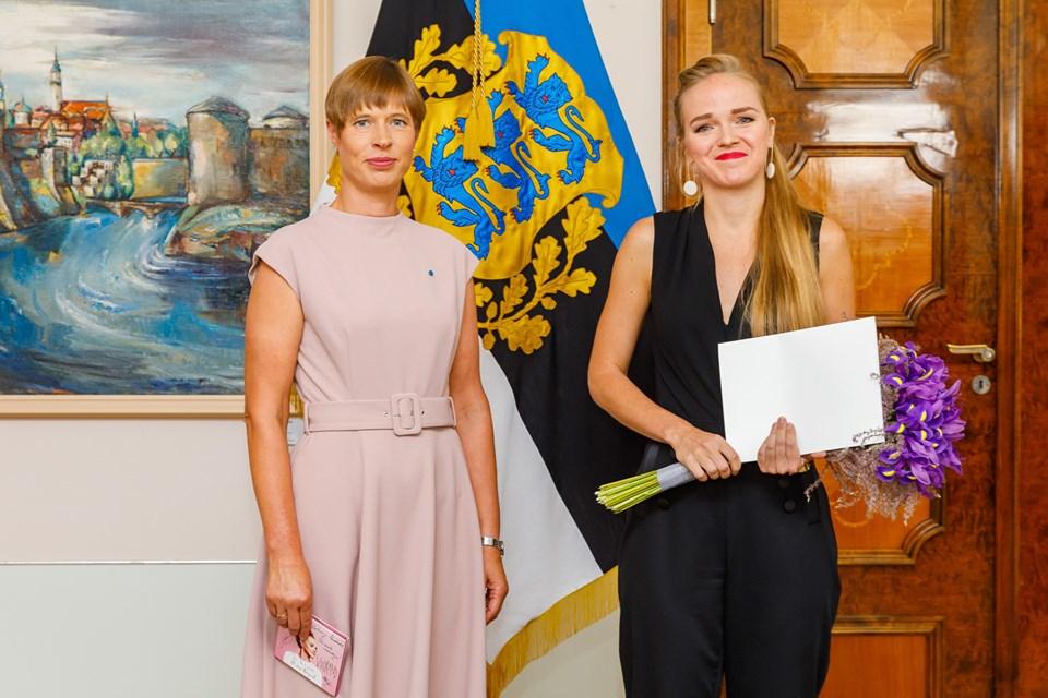 Noore kultuuritegelase preemia sai džässmuusik Kadri Voorand