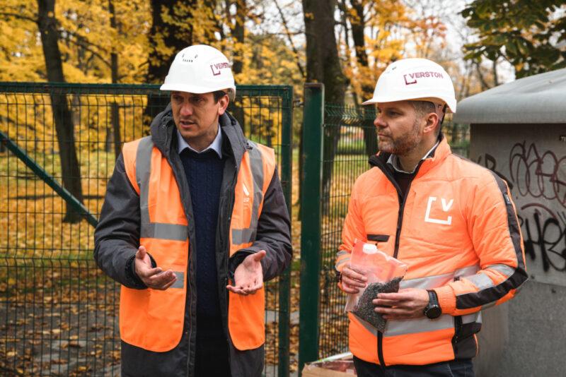 Tallinnas valmis esimene plastikjäätmeid sisaldav kõnniteelõik