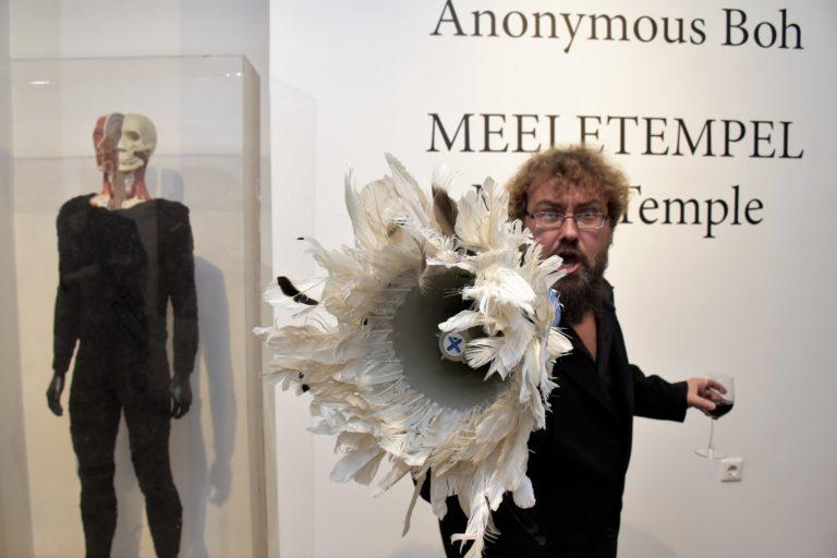 "Reedel avati Al Paldroki alias Anonymous Bohi näitus ""Meeletempel"""