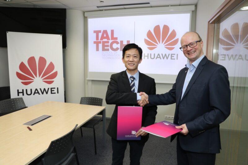 ROHKEM VÕIMALUSI! TalTech ja Huawei sõlmisid koostöö memorandumi
