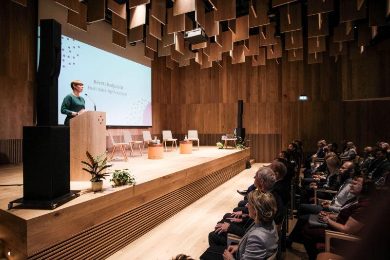 President Kersti Kaljulaid: Eesti võiks olla kliimaküsimuste katalüsaator