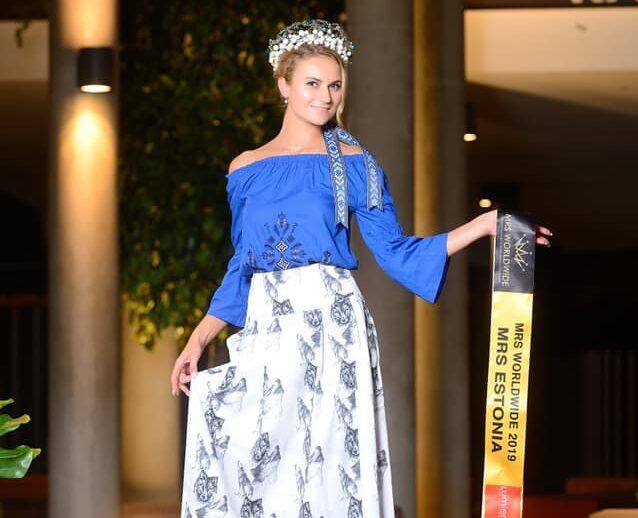 Eestlanna Marianna Otsa pälvis rahvusvahelisel iluduskonkursil maineka tiitli