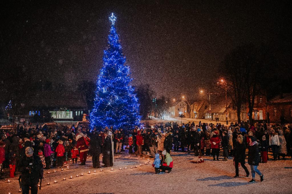 Viljandi linna jõulupuu