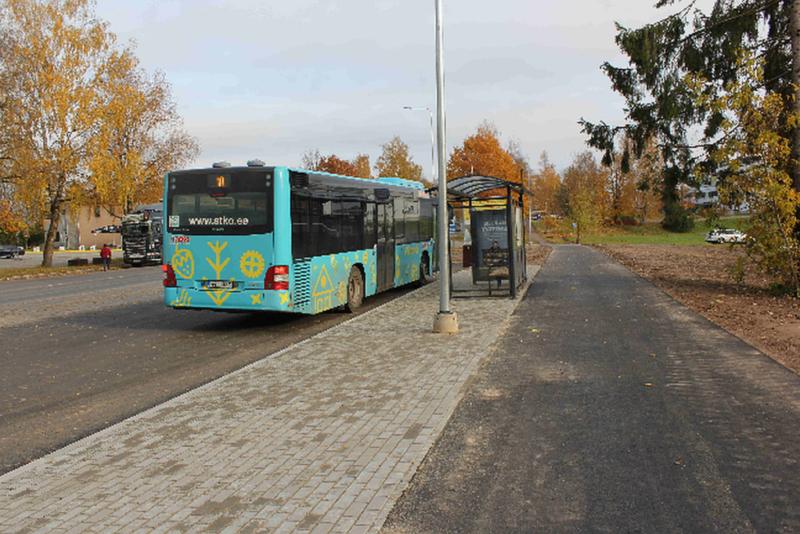 Viljandis ehitati tänavu 330 000 euro eest uusi kõnniteid