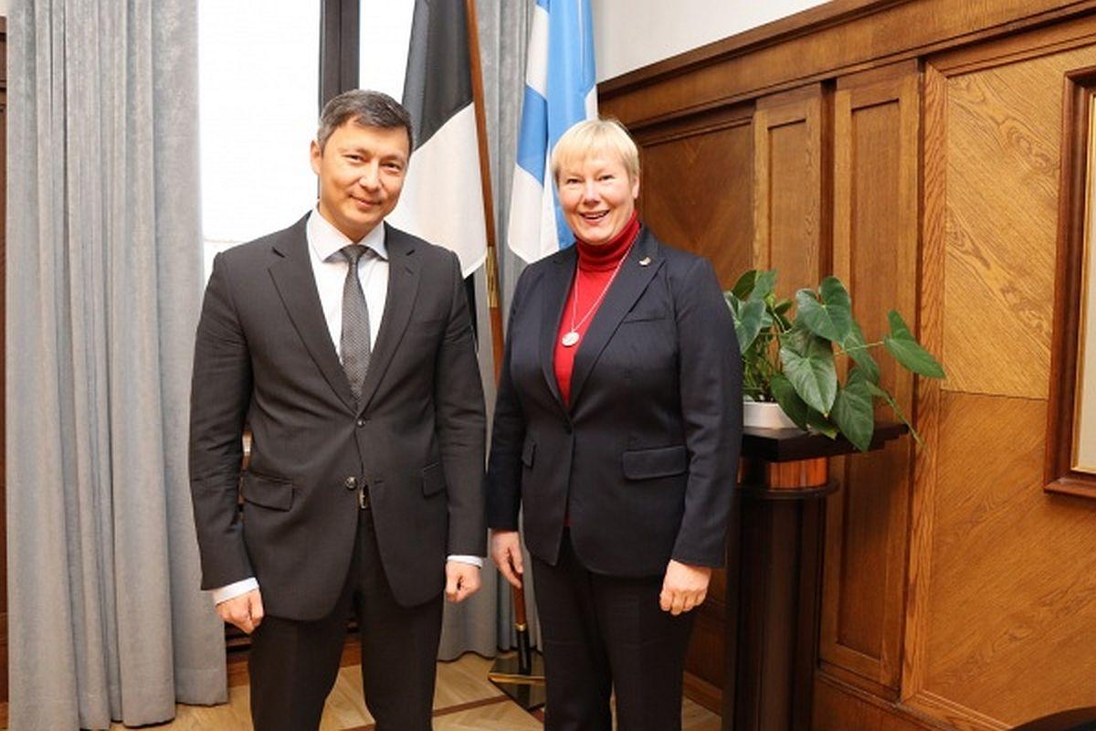 Tallinna linnapea kohtus Saksamaa uue suursaadikuga
