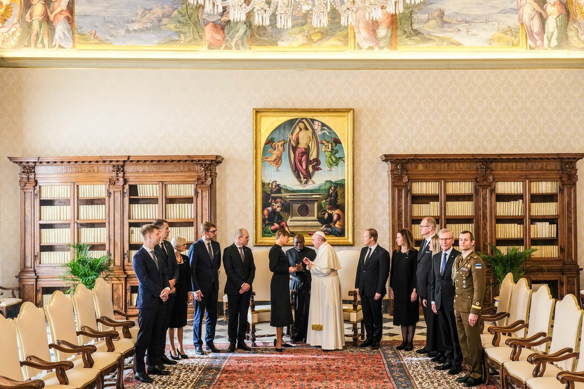 Kaljulaid-paavst