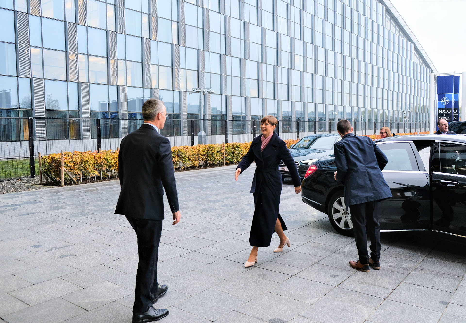 President Kaljulaid kohtus Jens Stoltenbergiga