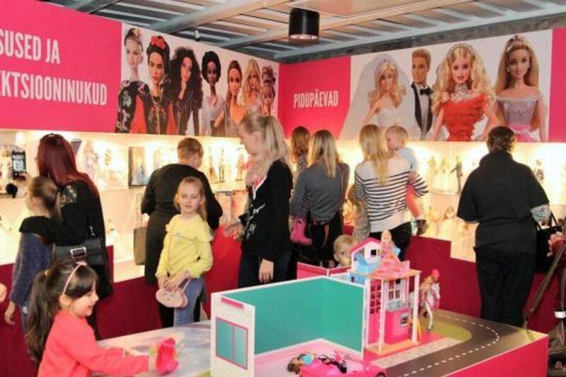 Mänguasjamuuseumis toimub Barbie-taaskasutuslaat ja moedemm