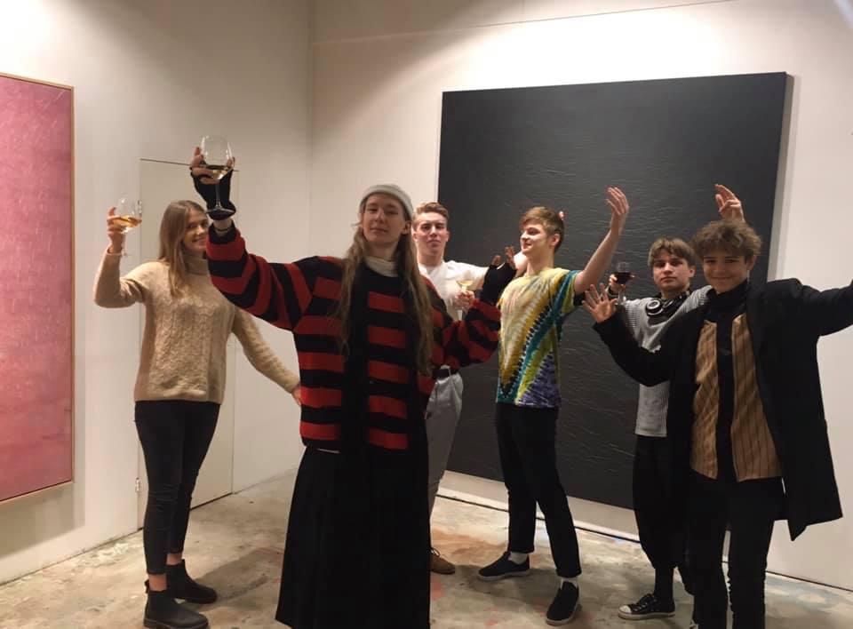 """Andres Koorti näituse """"Tumeaine"""" avamine"""