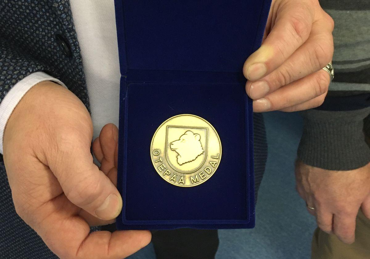100-aastane, kes sai medali! Otepää tunnustas juubilari