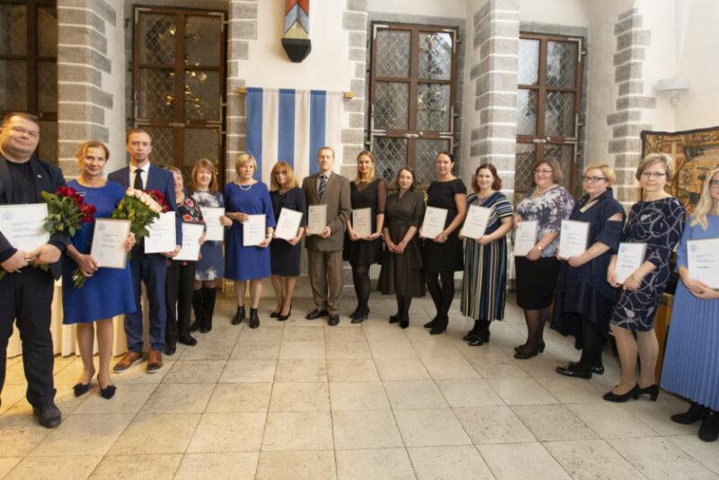 Tallinn tunnustas parimaid tervishoiutöötajaid