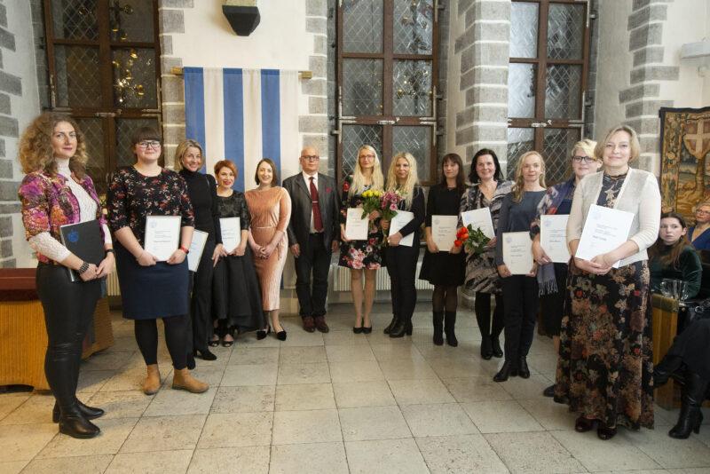 Tunnustati Tallinna parimaid sotsiaaltöötajaid