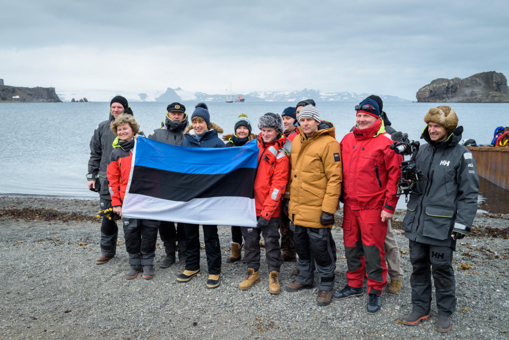 President Kaljulaid Antarktikas