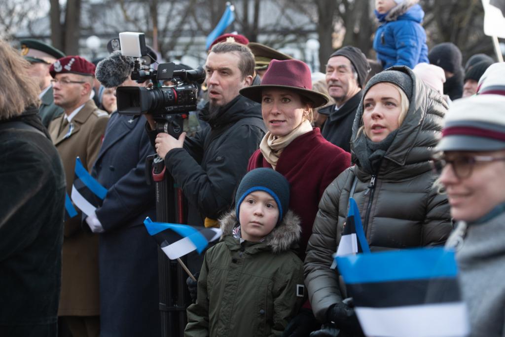 Eesti Vabariigi 102. aastapäeva lipuheiskamise tseremoonia Erik Peinar10