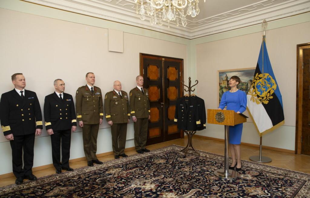 Kersti Kaljulaid Auastmed