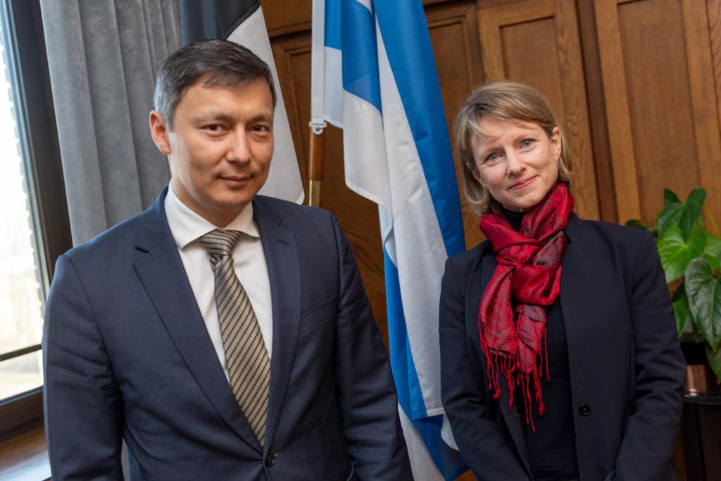 Mihhail Kõlvart ja Mayor Ayyalaraju Mats Õun