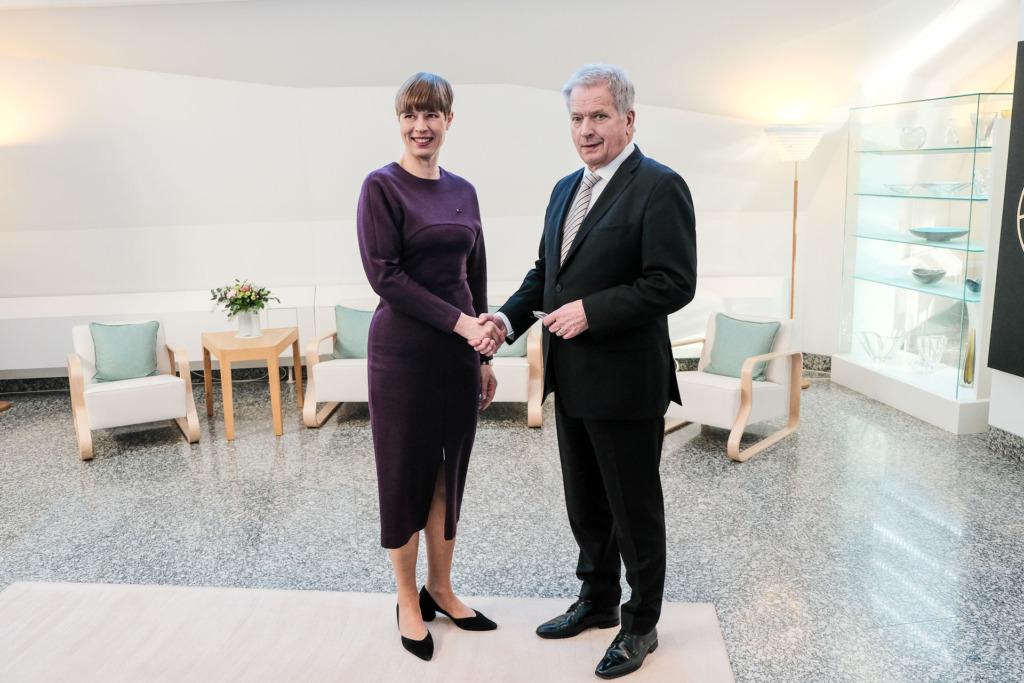 President Kaljulaid arutas Soome kolleegiga Balti-Põhjamaade koostööd
