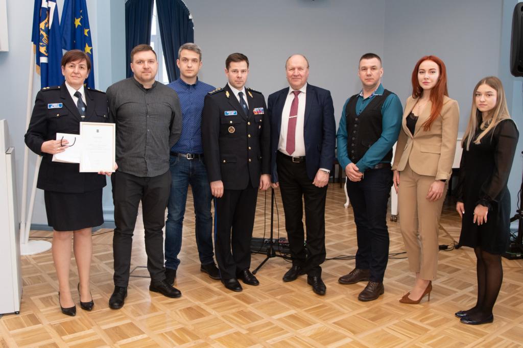 Siseministeerium tunnustas vabatahtlikke Erik Peinar