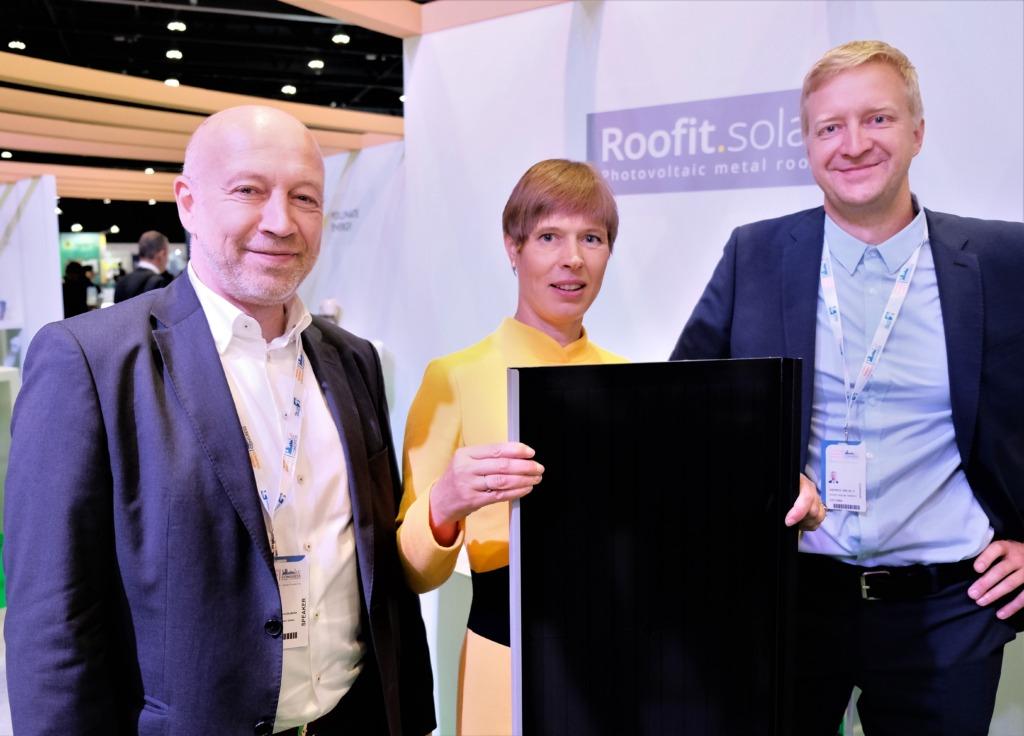 Saksamaa Energiaagentuur valis Eesti idufirma Roofit.solari 100 maailma parima energeetika start-up'i hulka