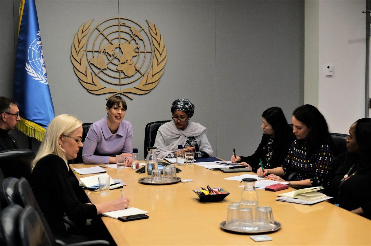 President Kaljulaid rõhutas ÜRO-s vajadust parandada tervishoiuteenuste kättesaadavust