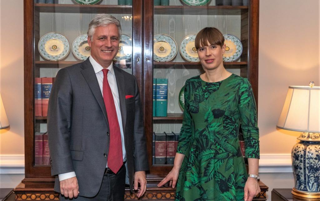 President Kaljulaid arutas Ühendriikide julgeolekunõunikuga kahe riigi koostööd