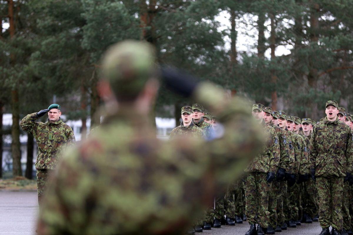 TRUUDUSETÕOTUS I Kuperjanovi jalaväepataljoni ja logistikapataljoni ajateenijad andsid truudusetõotuse