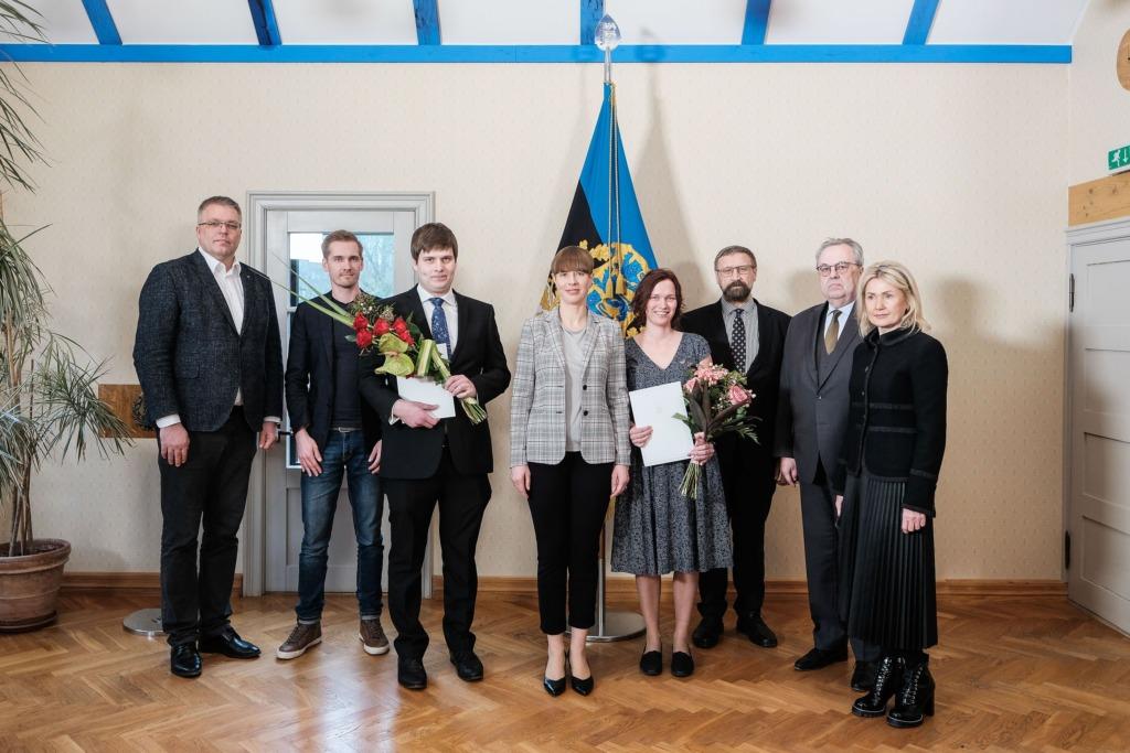 President Kaljulaid teaduspreemiate üleandmisel: teadlaste panus ühiskonda on praegu eriti tajutav