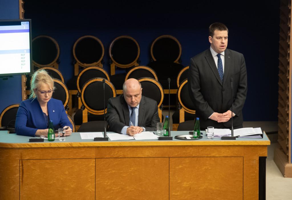 VAATA VIDEOT I Riigikogu infotunnis räägiti eriolukorrast