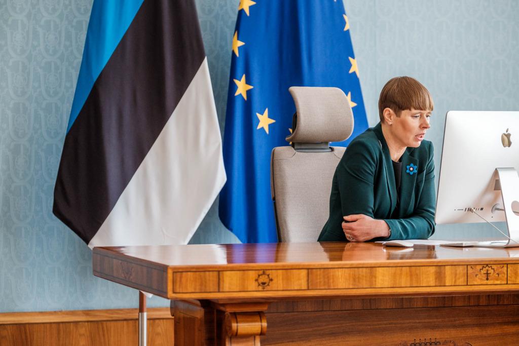 Kersti Kaljulaid Vabariigi Presidendi Kantselei