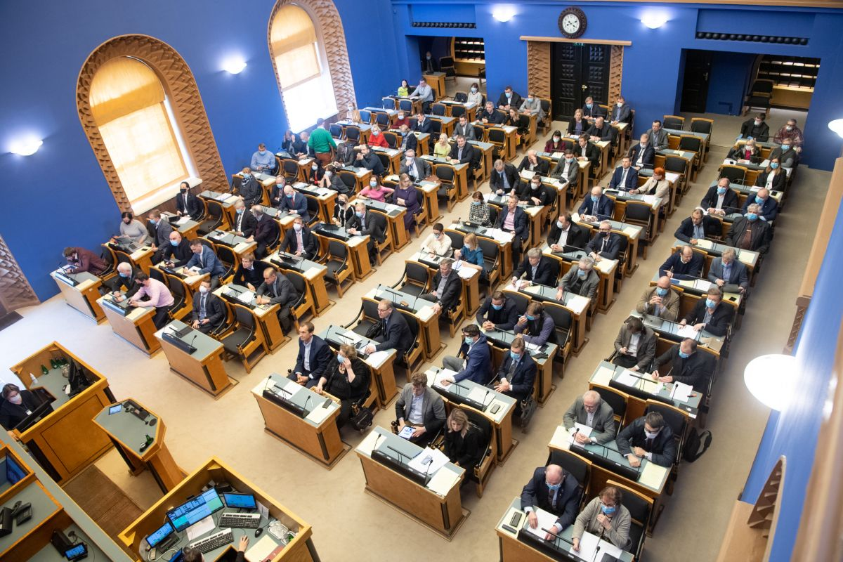 Riigikogu istung 15.04.2020