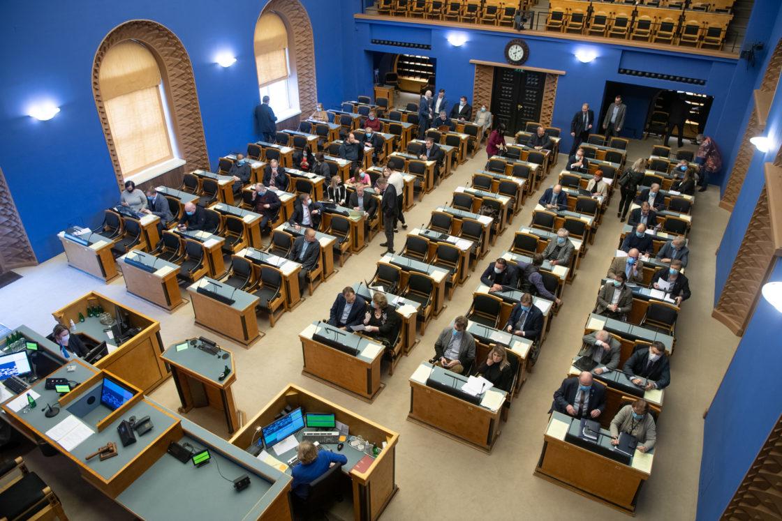 Riigikogu võttis vastu kaheksa seadust