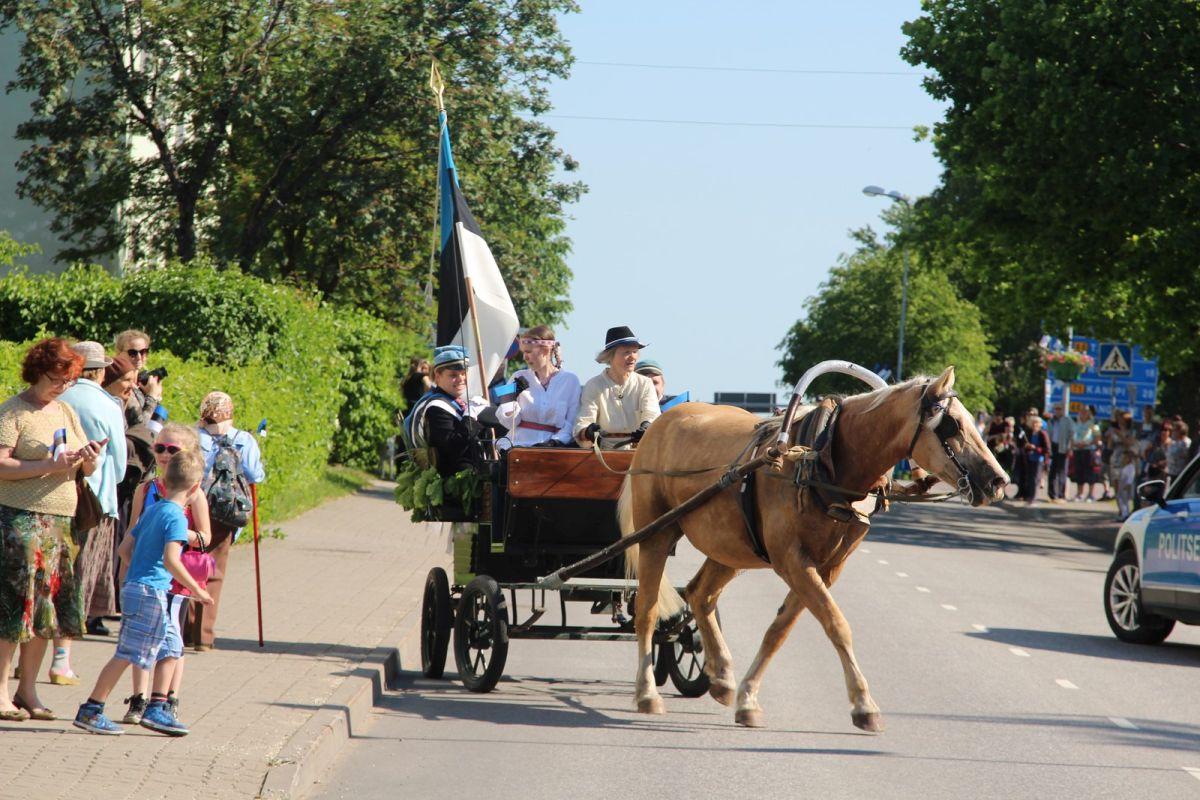 Eesti lipp 135 tähistamine, foto Monika Otrokova