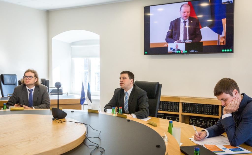 PIIRIDE AVAMINE I Balti peaministrid võtsid eesmärgiks avada piirid kolme riigi vahel 15. mail