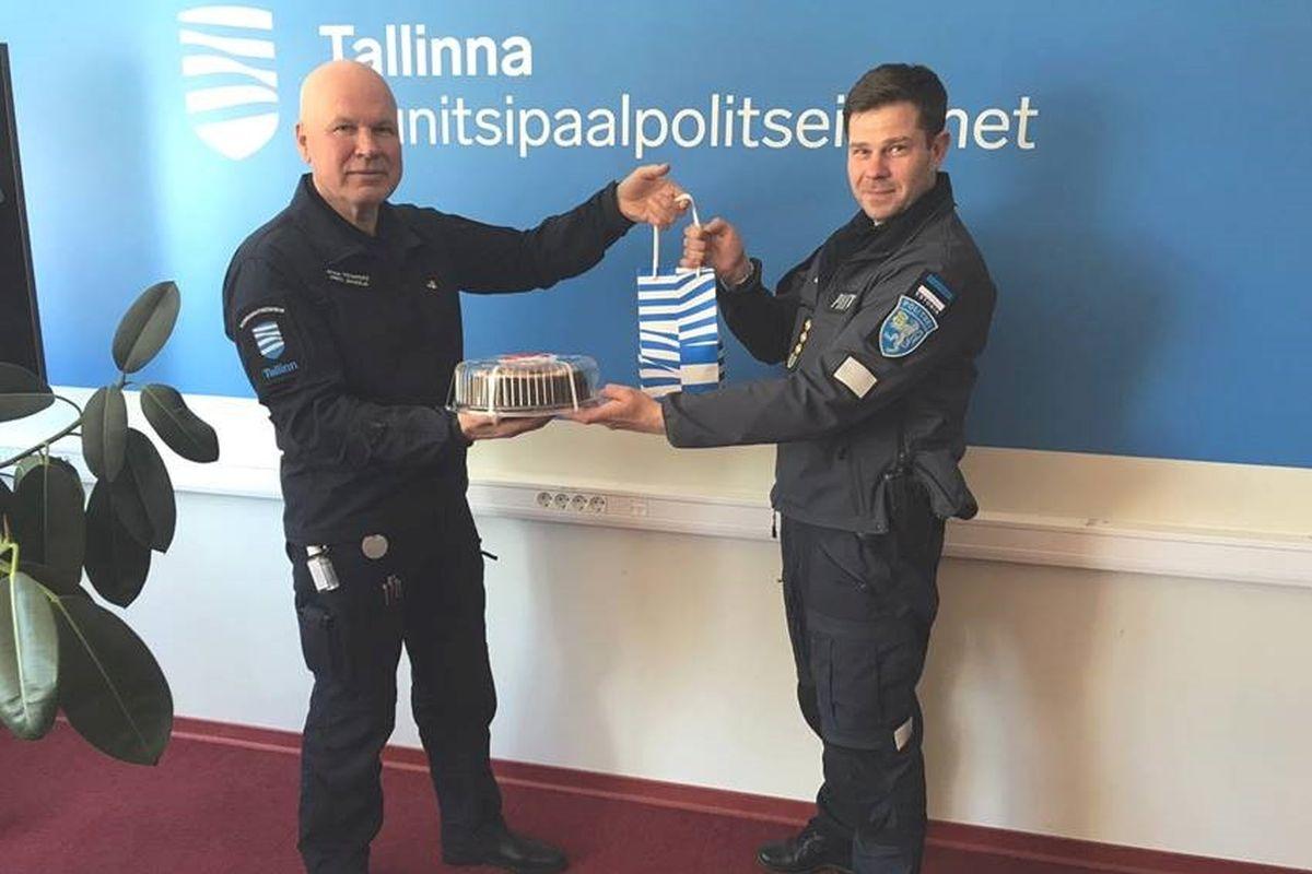 TÄNUSÕNAD MUPOLE I Kristian Jaani: hea, et Tallinnas on olemas kohalik korrakaitseüksus mupo näol