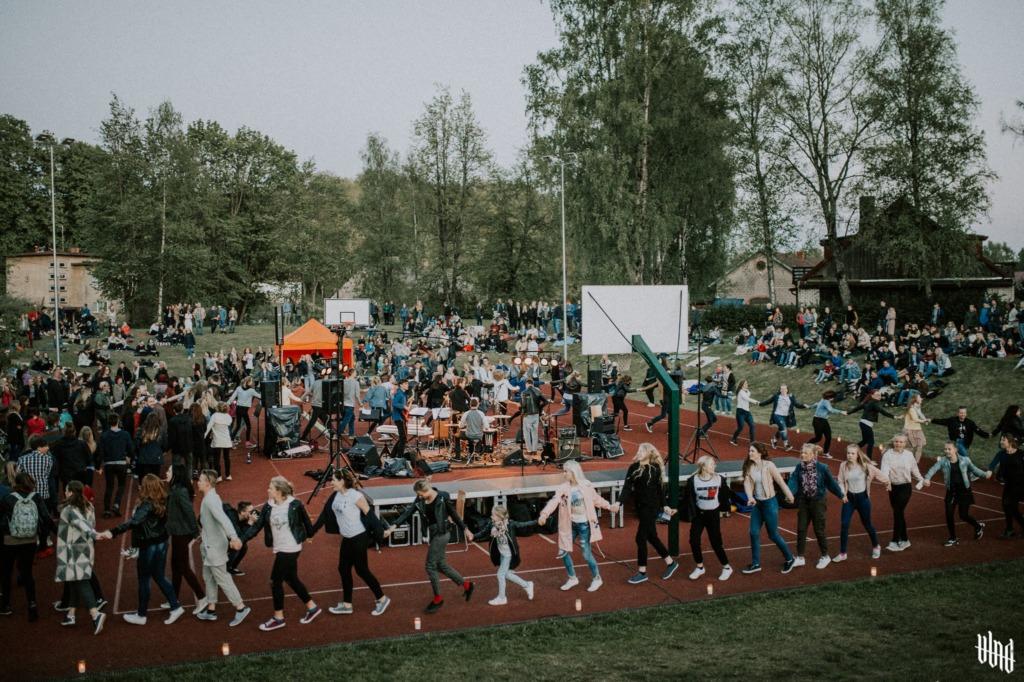 Viljandi Gümnaasium_Öölaulupidu